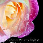 Nothing's gonna change my love for you... by ~ Fir Mamat ~