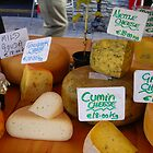 Cheese at Kilarney Farmer&#x27;s Market by Cathy Klima