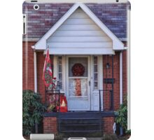 A festive door iPad Case/Skin