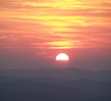Sunset on Pinnacle Mountain 2 by Jatt2613