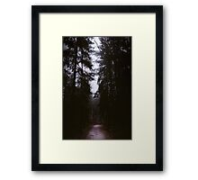 Will you let me pass? Framed Print