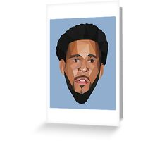 J Cole 2014 Lowpoly Greeting Card