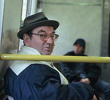 commuter 1 by Talya Chalef