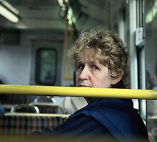 commuter 2 by Talya Chalef