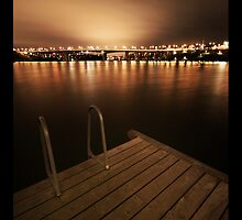 Lilla Essingen By Night I  by CalleHoglund