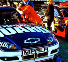 Dale Earnhardt Jr. and Jeff Gordon Sticker