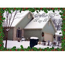 Happy Holiday's Photographic Print