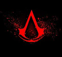 Assassins Creed Logo Red by lucaschapashop