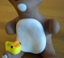 Rubber Ducky Bear by hollycannell