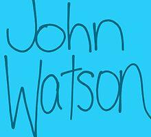 Dr. John H. Watson by shezzaswatson