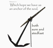 Hebrews 6:19 - whole anchor by William F. Blair