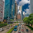 Hong Kong traffic by jlprods