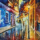 Quito Ecuador — Buy Now Link - www.etsy.com/listing/214680134 by Leonid  Afremov