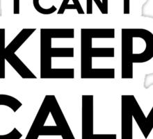 I cant keep calm Im a RANGEL Sticker