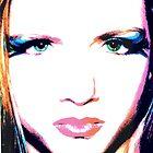 Green eyes.  by SunKen