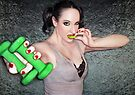 Suck a lime fight lyme 2 - Self Portrait by Jaeda DeWalt