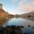 Thirlmere in spring by Julie M Gibson