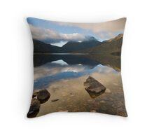Dawn, Cradle Mountain Throw Pillow