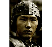 Asian Warrior Photographic Print