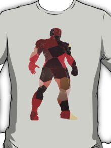robot silhouette tshirt  T-Shirt