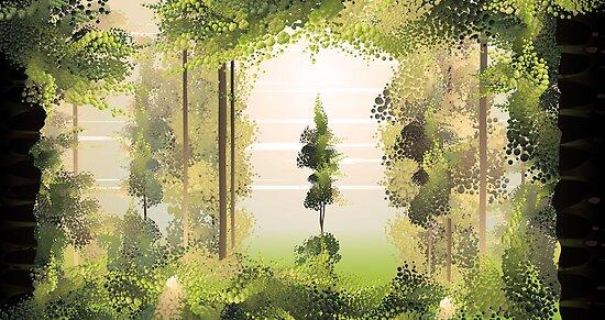 forest by Martina Stroebel