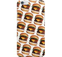 Cheeseburger Pattern iPhone Case/Skin