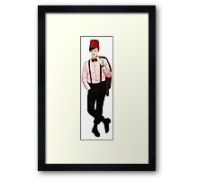 The 11th Doctor - Matt Smith Framed Print