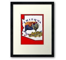 ARIZONA Born and Bred Framed Print