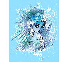 Watercolour Elsa Photographic Print