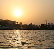 Sunset in Dubai by Neil Grainger