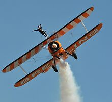 Steerman Wing-walker, Avalon Airshow, Australia 2013 by muz2142