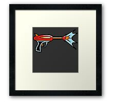 My First Raygun Framed Print
