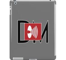 Depeche Mode - Music For The Masses Logo 4 Black DM iPad Case/Skin