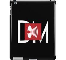 Depeche Mode - Music For The Masses Logo 4 White DM iPad Case/Skin
