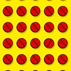 Red pills pattern by theimagezone