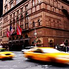 Taxi race by richardfrank