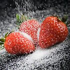 Strawberries and Sugar by jansphotos