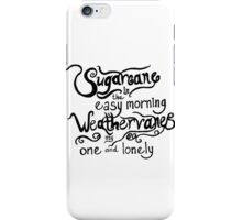 Panic! At the Disco - Northern Downpour iPhone Case/Skin