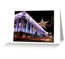 Christmas at Selfridges Greeting Card