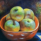 """An Impression of Apples"" by Susan Dehlinger"