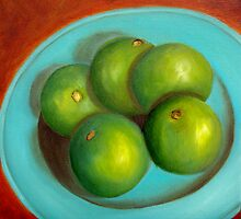 """Thai Limes""   SOLD by Susan Dehlinger"