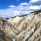 Awesome Yellowstone Canyon by avocet