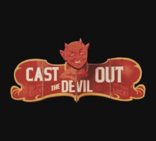 BioShock Infinite – Cast Out The Devil Game Sign by PonchTheOwl