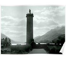 Jacobite Memorial , Glenfinnan Poster