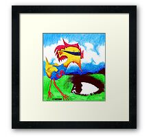 Super Bird Framed Print