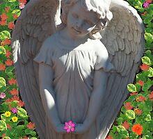 Angel Amoung us by Underthebamasky