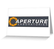 Aperture Laboratories Greeting Card
