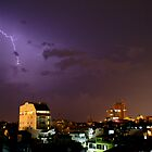 Lightning over Ha Noi by William Carne