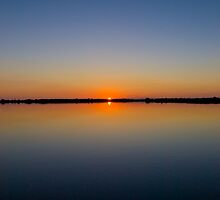 Calm Sunset by Alex Wagner