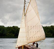 Norfolk Wherry by Alex Wagner